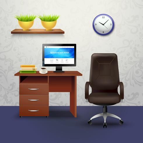 illustration de conception de cabinet vecteur