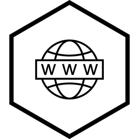 Conception d'icônes de recherche Web vecteur
