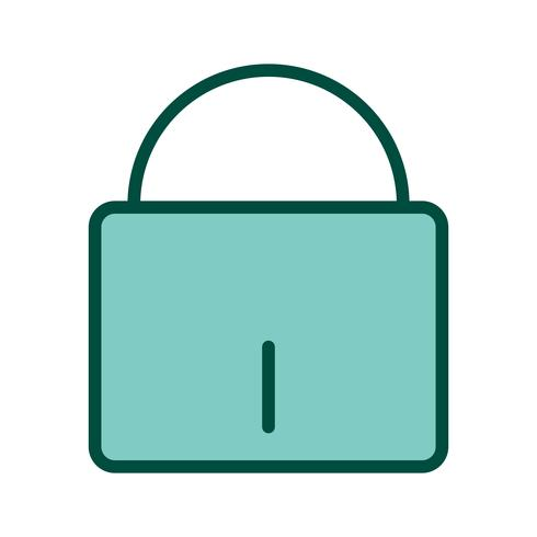 Conception d'icônes de sécurité vecteur