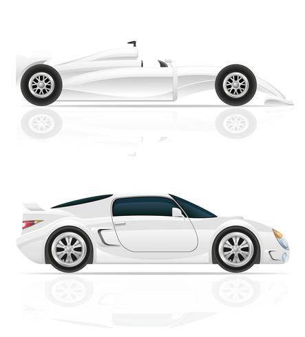 illustration vectorielle de voiture de sport vecteur