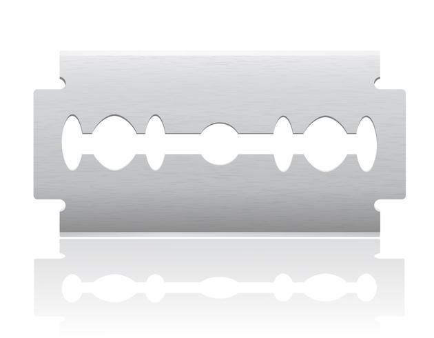 illustration vectorielle de lame vecteur