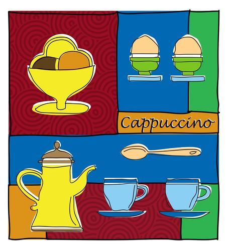 café vecteur