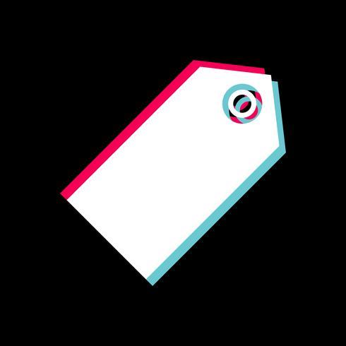 Tag Icon Design vecteur