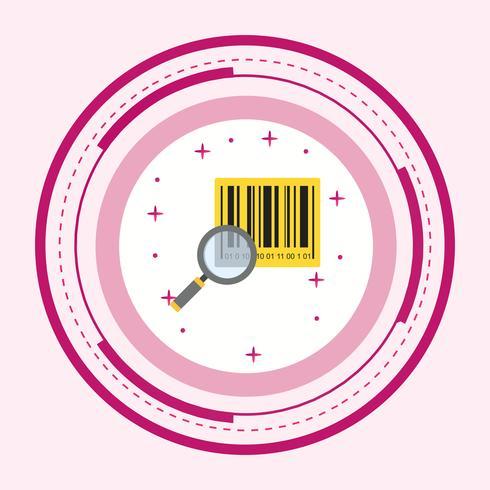 Rechercher une icône de produit vecteur