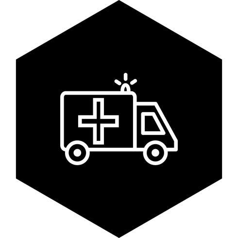 Ambulance Icône Design vecteur