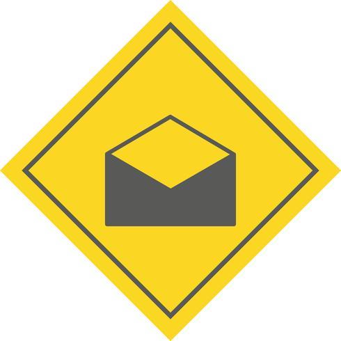 Conception d'icône d'enveloppe vecteur