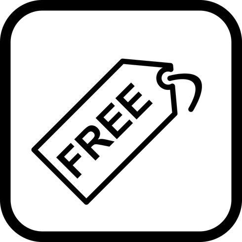 Conception d'icône de balise gratuite vecteur