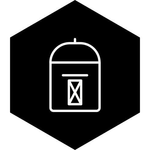 conception d'icône de boîte aux lettres vecteur