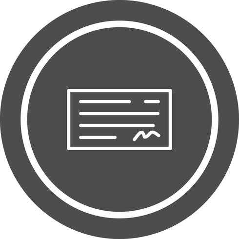 Vérifier la conception des icônes vecteur