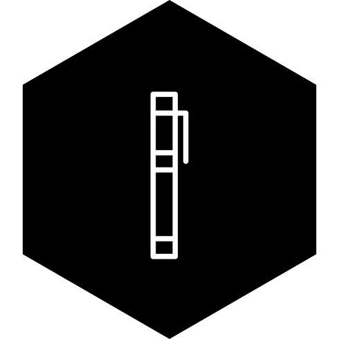 Marqueurs Icône Design vecteur