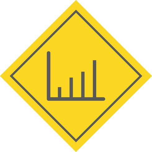 Statistiques Icon Design vecteur