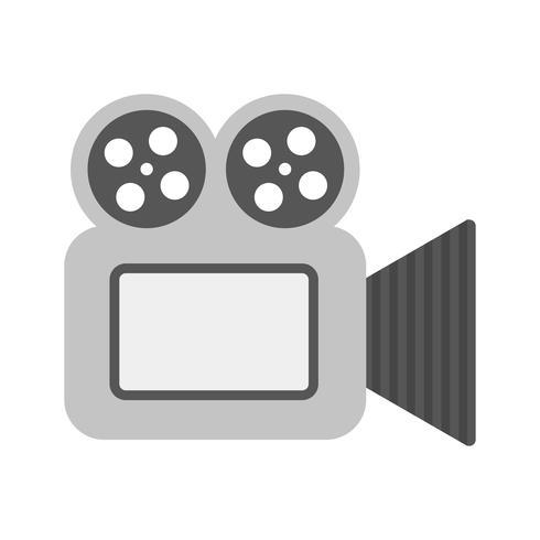 Conception d'icône de caméra vidéo vecteur