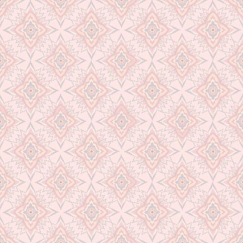Motif de fleurs sans soudure Ornement floral abstrait. vecteur