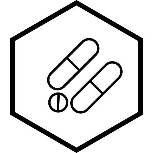 Médicaments Icône Design vecteur