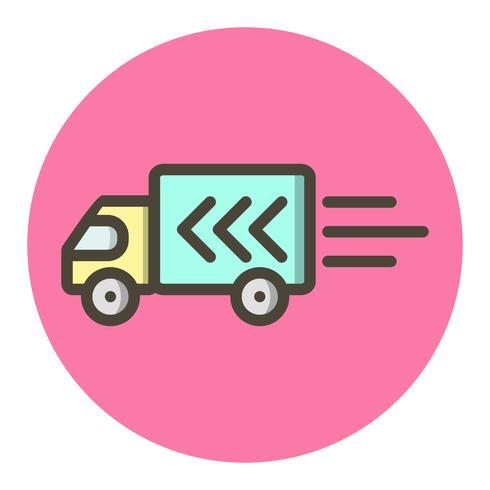 Conception d'icône de camion de livraison vecteur
