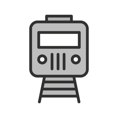 conception d'icône de train vecteur