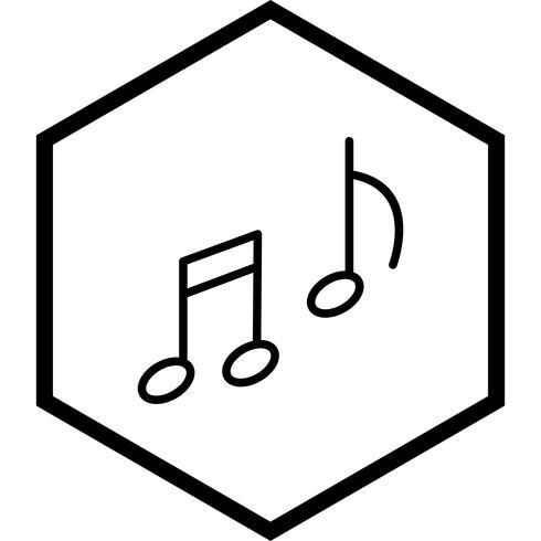 Musique Icône Design vecteur