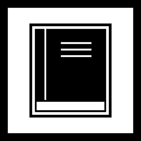 Livre icône design vecteur