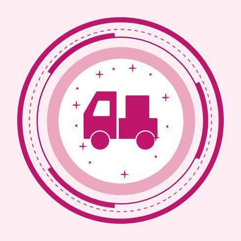 design d'icône de transporteur vecteur