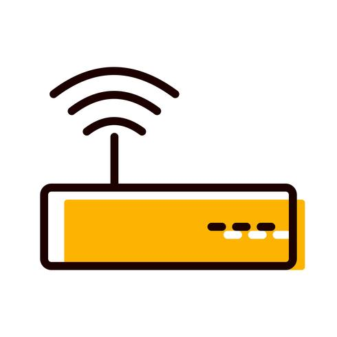 Conception d'icônes WiFi vecteur