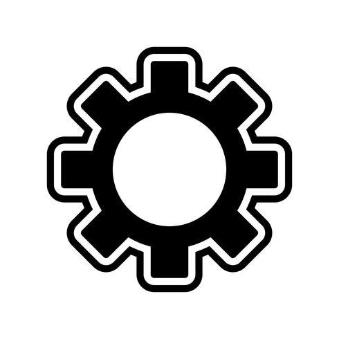 Paramètres Icône Design vecteur