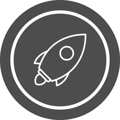 Lancer Icon Design vecteur