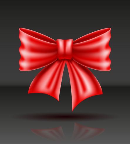 illustration vectorielle réaliste arc rouge vecteur