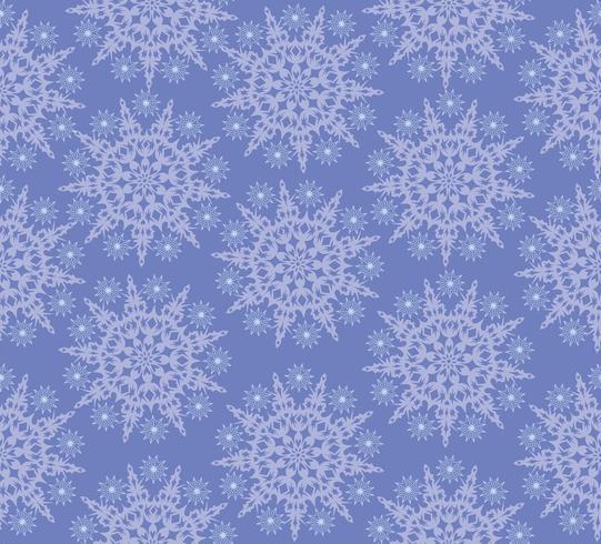 Modèle sans couture de neige, fond de flocons de neige hiver vacances. vecteur