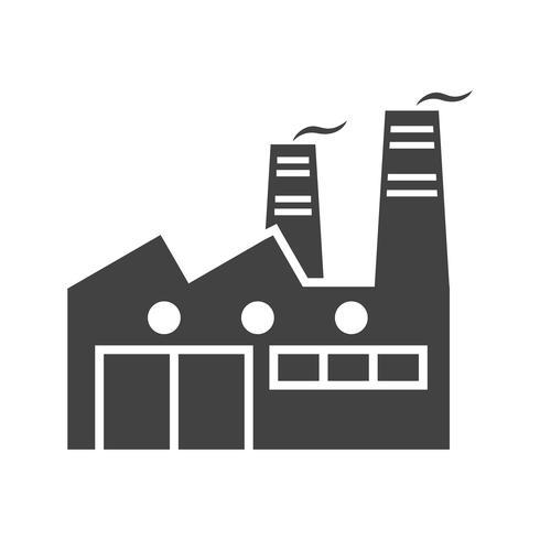 Icone De Glyphe Noir Usine Telecharger Vectoriel Gratuit Clipart Graphique Vecteur Dessins Et Pictogramme Gratuit