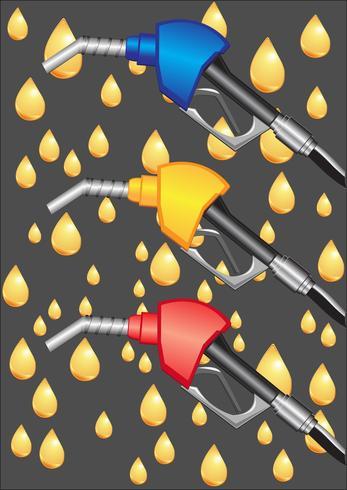 pompe à essence vecteur