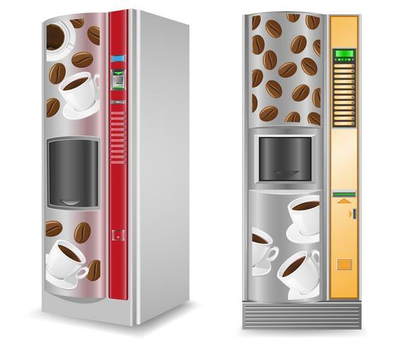 vente de café est une illustration vectorielle de la machine vecteur