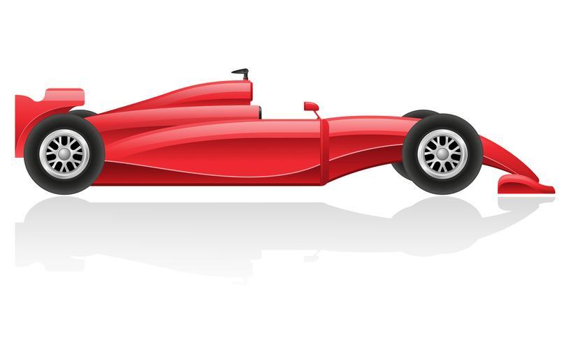 illustration vectorielle de voiture de course EPS 10 vecteur
