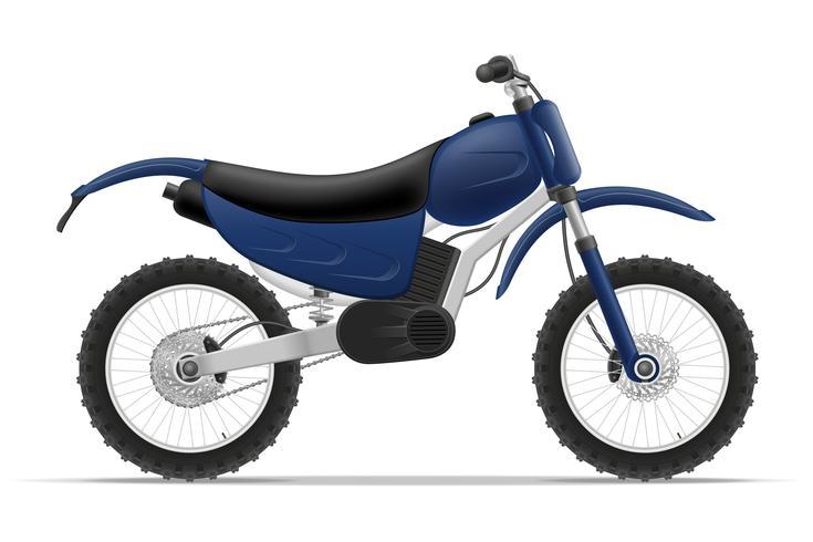 illustration vectorielle moto vecteur