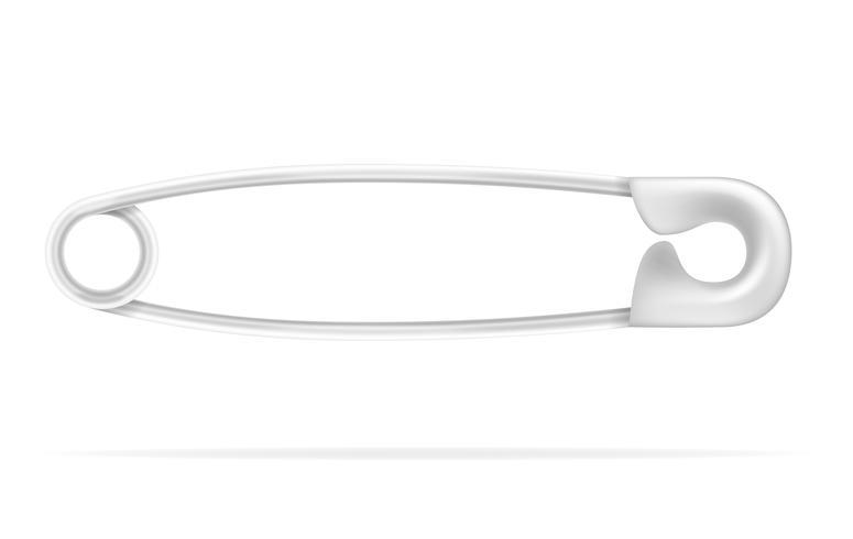 goupille de sécurité stock illustration vectorielle vecteur