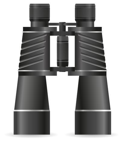 illustration vectorielle de jumelles vecteur