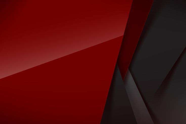 Abstrait fond rouge foncé et chevauchement noir 005 vecteur