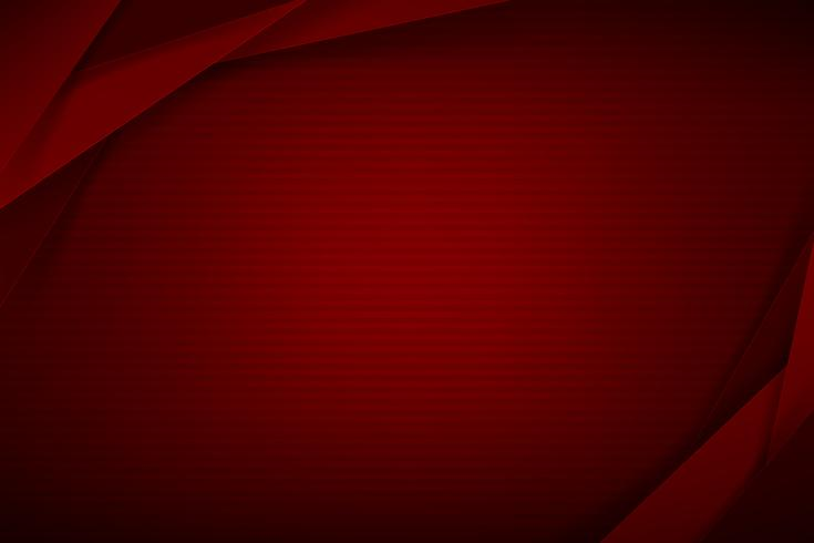 Abstrait fond rouge foncé et chevauchement noir 004 vecteur