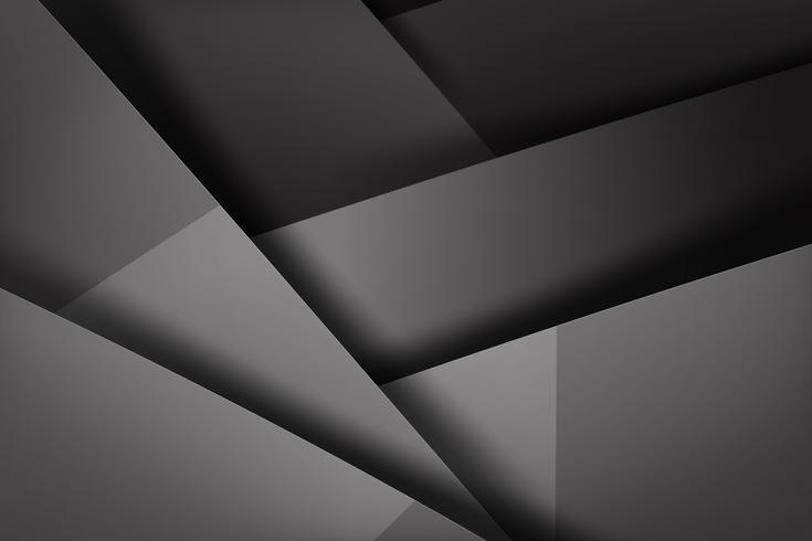 Abstrait fond noir et noir qui se chevauche 004 vecteur