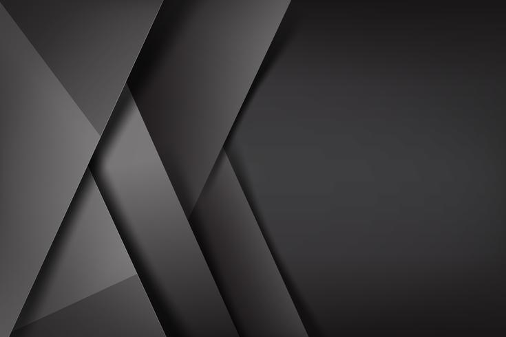 Abstrait fond noir et noir qui se chevauche 002 vecteur
