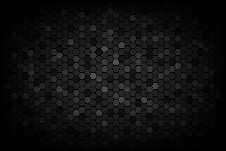 Fond abstrait noir triangulaire texture abstraite vecteur