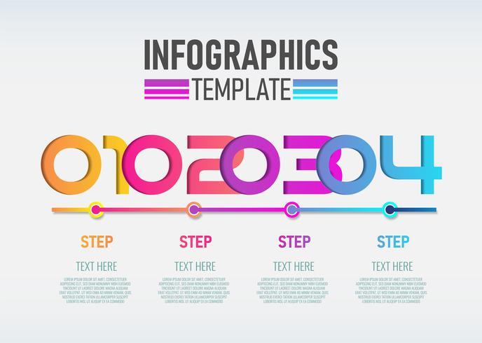 Étiquette 3d d'infographie moderne vectoriel, conception de modèle. vecteur