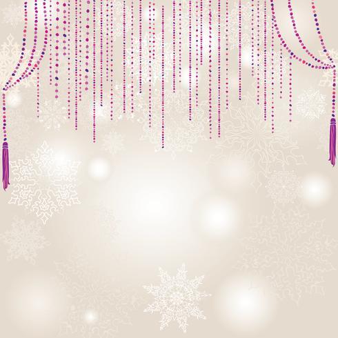 Motif de flou de neige. Fond nature neige hiver Noël vacances vecteur