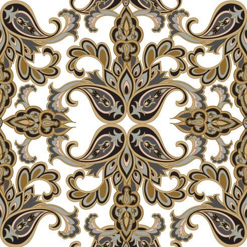 Floral pattern sans soudure. Fond de fleurs. Texture transparente florale avec des fleurs. Papier peint carrelé Flourish vecteur