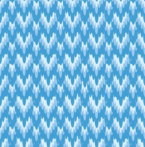 Ornement de tissu abstrait Modèle sans couture de lignes géométriques. orienter la texture vecteur