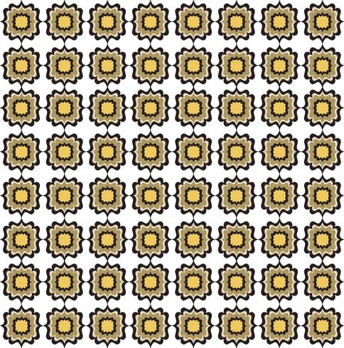 Motif de lignes sans soudure. Ornement floral abstrait. Texture géométrique vecteur