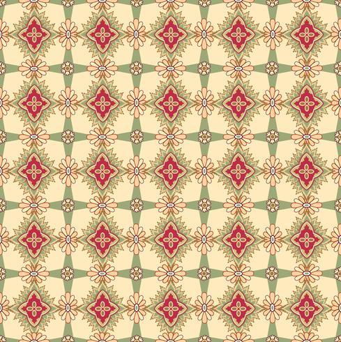 Motif de fleurs sans soudure Ornement floral abstrait. Texture de tissu oriental vecteur
