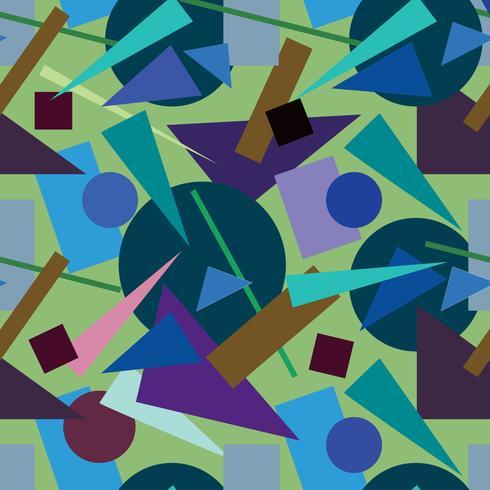 Modèle sans couture abstraite. Toile de fond de forme géométrique vecteur