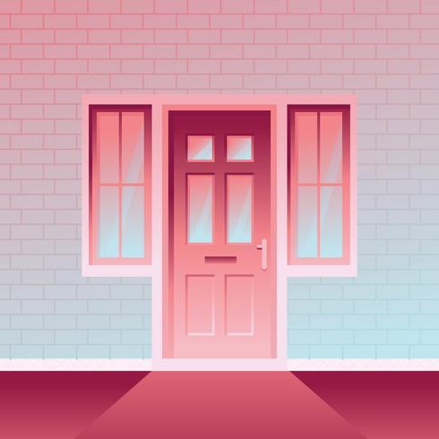 Porte de gradient vecteur