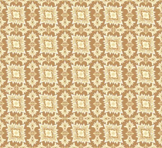 Motif de fleurs orientales Ornement floral abstrait Fond tissu Swirl vecteur