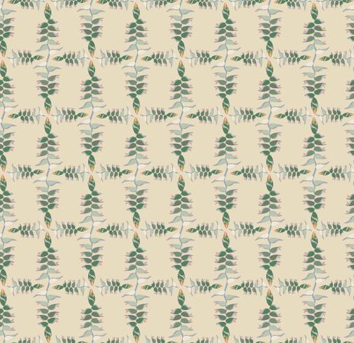 Motif ethnique floral abstrait. Ornement floral géométrique. vecteur